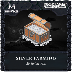 Silver Farming with AP BELOW 200 ( Price each Billion )
